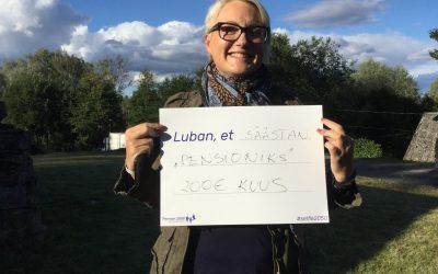 Uudiskiri: Pension 2050 Arvamusfestivalil ja kakskeelne blogi