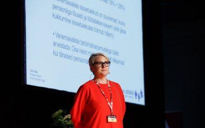 Liisi Uder kaubanduse aastakongressil: tuleviku pensionärid on tänastest jõukamad
