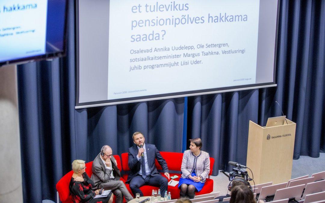 Pension 2050 visioonikonverents tutvustas uue eakuse ideid