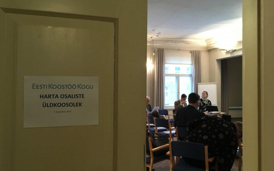 Harta osaliste üldkoosolek: Harta 2014-2017 täitmine ja uues Hartas digiajastu demokraatia ja avalik ruum