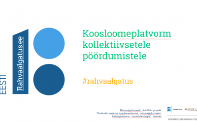 Rahvaalgatus.ee – kahe aastaga Eesti e-osalemise lipulaevaks!