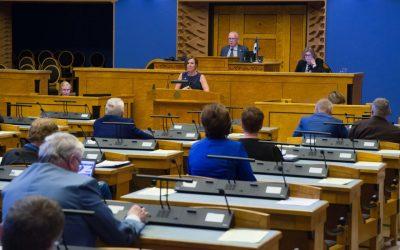 Teele Pehk riigireformi arutelul Riigikogus: kasutajakeskne riik muudab inimesed õnnelikuks