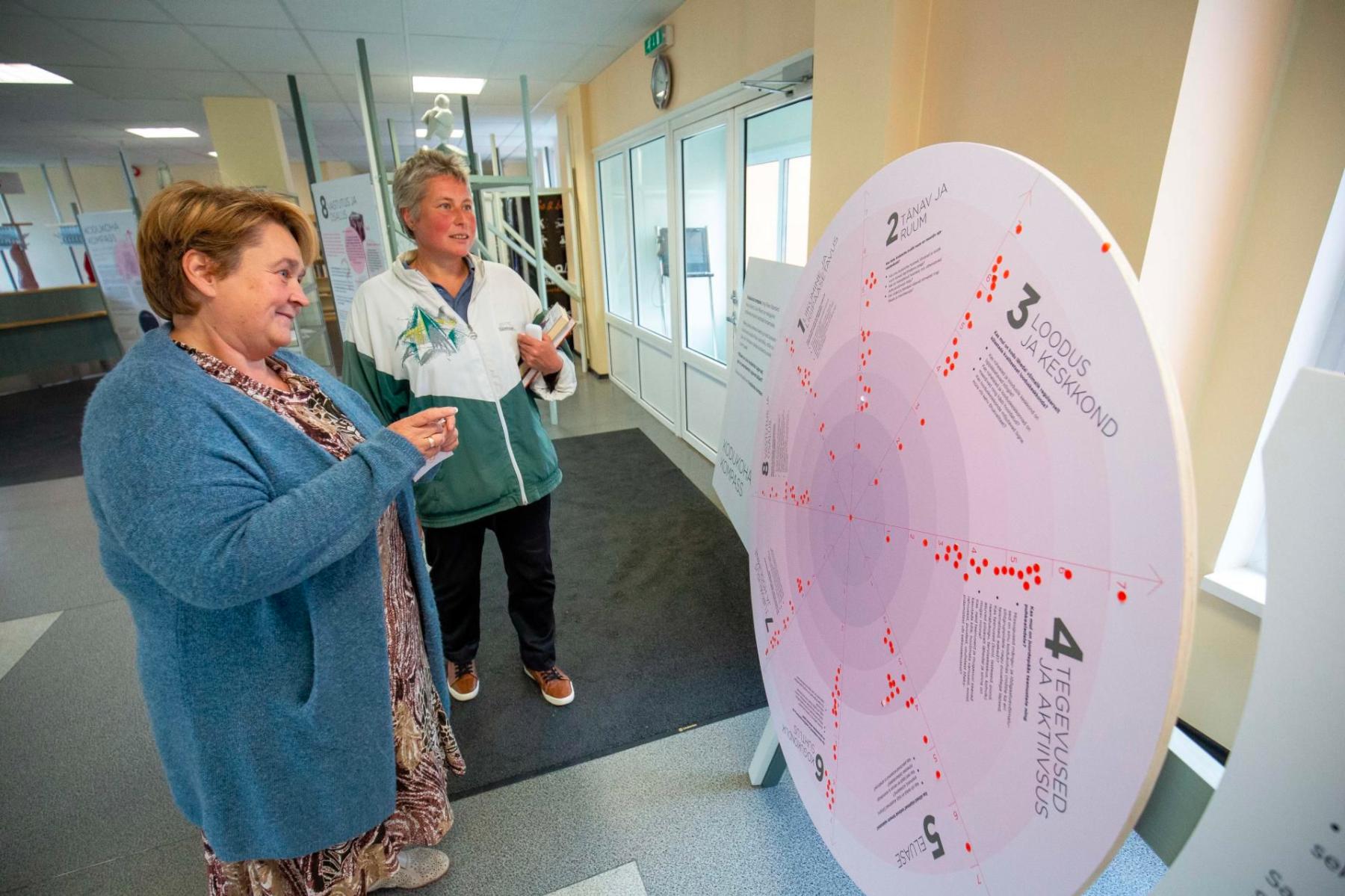Kairi Tilga tutvustas kodukoha kompassi Järvamaa Teatajale