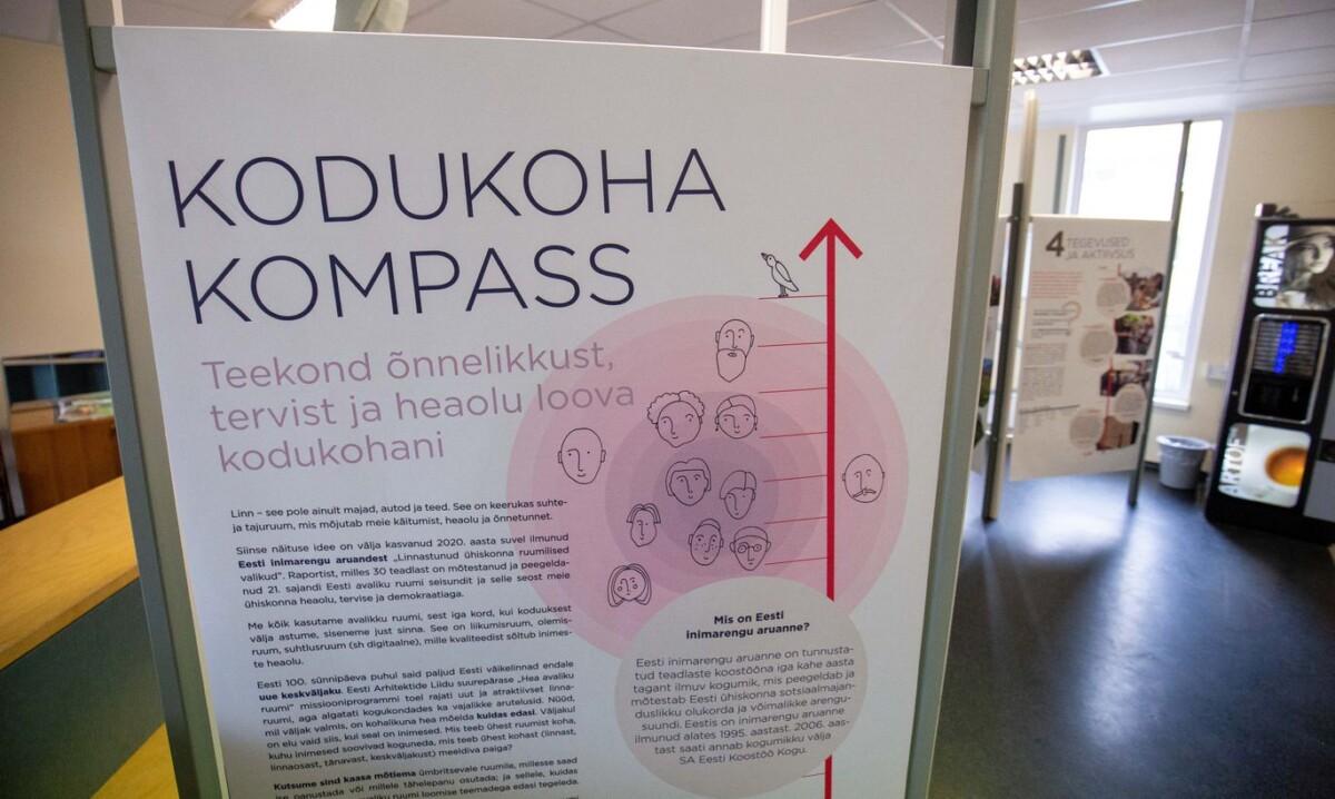 """Rändnäitus """"Kodukoha kompass"""" jõuab Lõuna-Eestisse"""